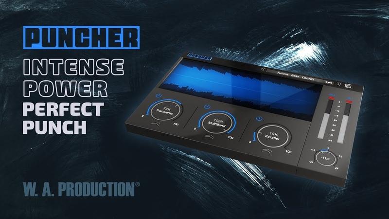 W.A.Production Puncher v1 - All In One Multi FX Compressor Plugin (VST VST3 AU)