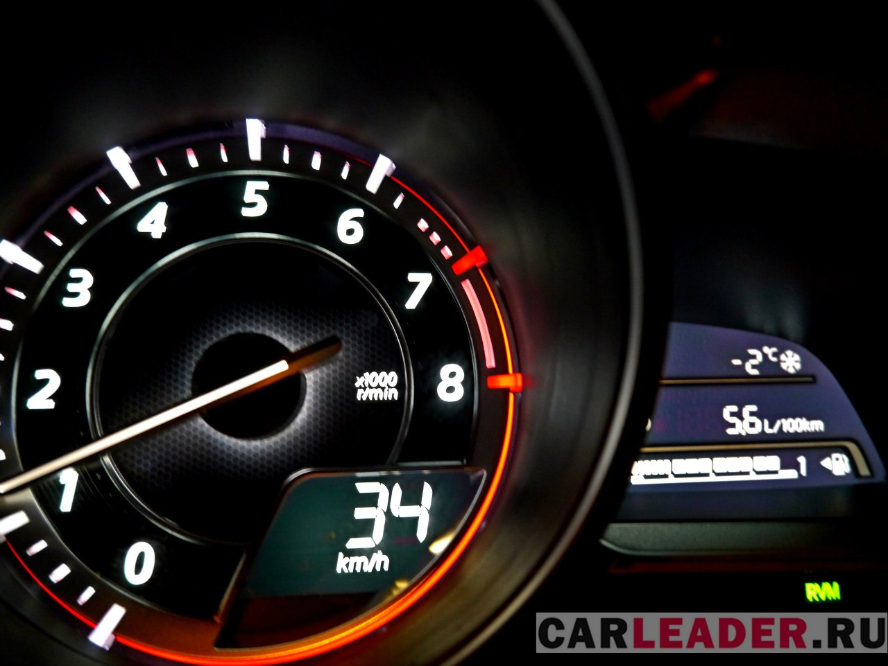 Расход бензина Mazda3 2014 на трассе