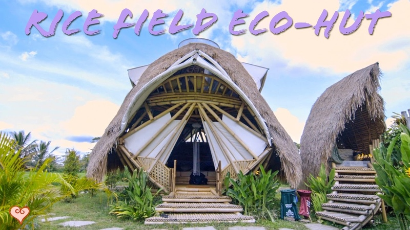 Incredible Bamboo Eco Hut Tour ♥ The Coolest Place We Have Stayed In Bali Yet