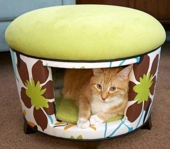 Идея домика для кота