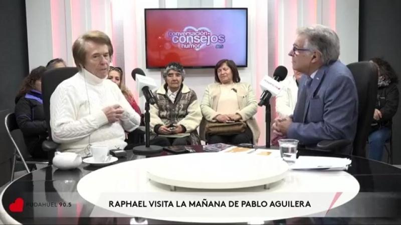 RAPHAEL en La Mañana de Pablo Aguilera.Radio