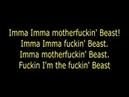 Beast lyric (SOUTHPAW)