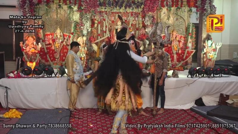 Jai Kali Mata Amazing Jhaanki __ Ashoka Niketan Delhi