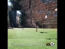 Начинаем неделю с любимой игры!😉🥅⚽️🏆 с погодой сегодня не все так плохо🌤 А вам нравится футбол ⠀ 📌Школа-сад 100 Языков! ☎78