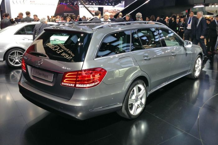 Mercedes wagon E 2013