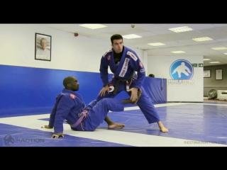 Braulio Estima - Sit-up Guard Counter - Inverted Triangle
