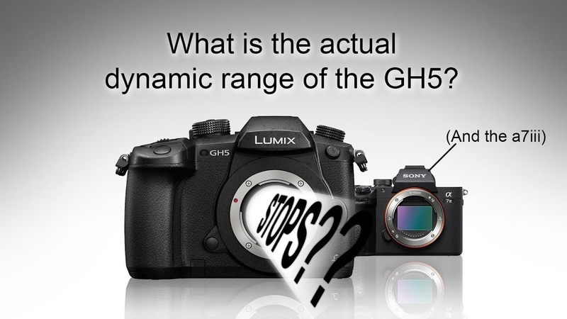 What is the actual dynamic range of the GH5 (and a7iii)