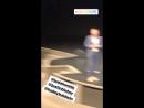 June 24 Fan taken video of Justin and Hailey Baldwin at Churchome in Kirkland Washington