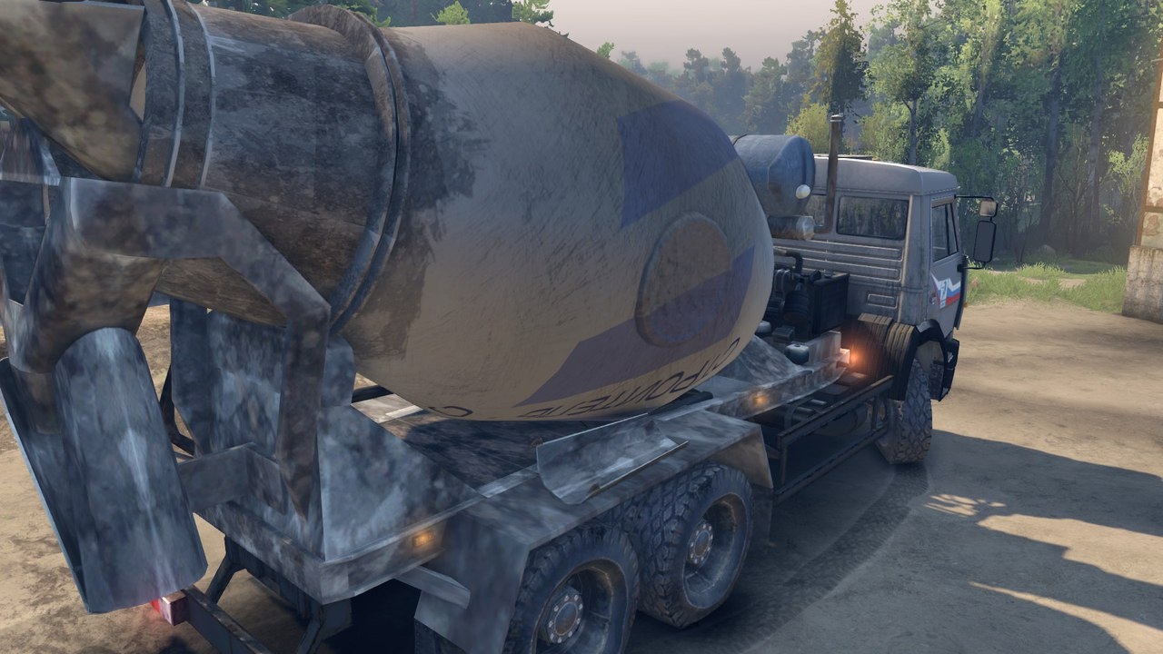 Камаз 6520 бетоносмеситель для Spintires - Скриншот 2