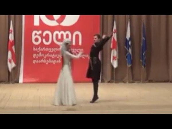 ансамбль Грузии Рустави - танец Картули (26.05.2018)