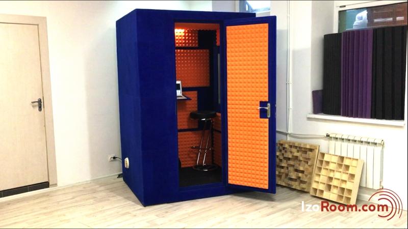 Акустическая кабина, вокальная будка 💫 IzoRoom™ Luxe