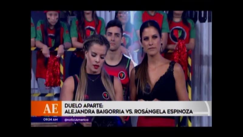 Duelo aparte - Alejandra Baigorria vs Rosangela Espinoza