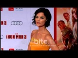 Jaimie Alexander and  Emily VanCamp, two hotties at the IRON MAN 3 Los Angeles premiere