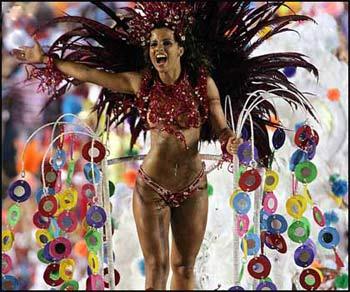 Оргии во время карнавала в рио