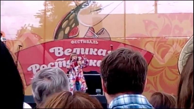 Ярослава Дегтярёва (Выступление на фестивале «Великая Ростовская Уха», Ростов Великий, 19.05.2018)
