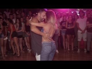 Esteban And Miriam @Social Bachata dance [Bilando Festival 2017] Sobredosis