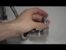 Установка системы очистки воды eSpring под столешницей