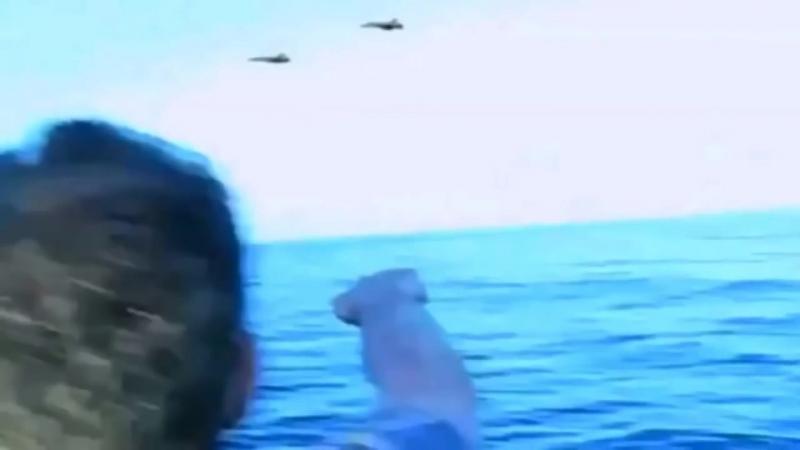 Странный случай на море