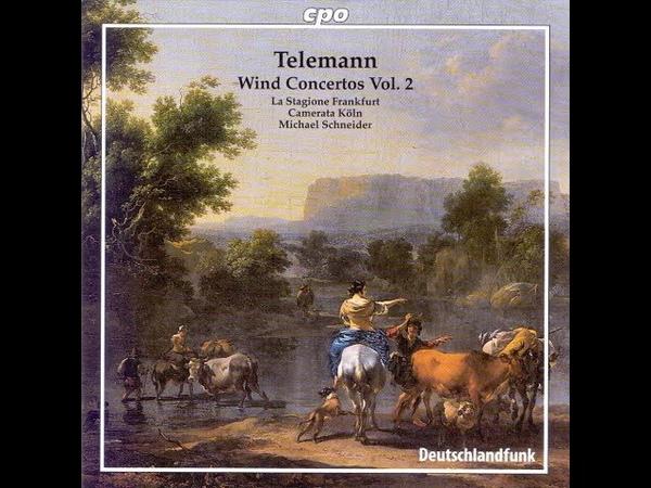 Telemann Wind Concertos CD 2