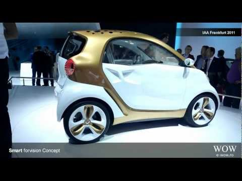 Smart forvision Concept - IAA Frankfurt Motorshow 2011 [HD]