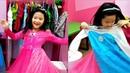 Gia Linh thử làm người mẫu trong trang phục tự chọn