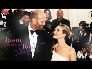 Rosie Huntington-Whiteley & Jason Statham's First Date Night as Parents | E! News (RUS SUB)