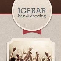 Логотип ICE BAR кафе, бар в Калуге