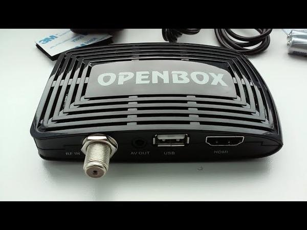 Обзор ресивера ► Openbox S3 Micro HD