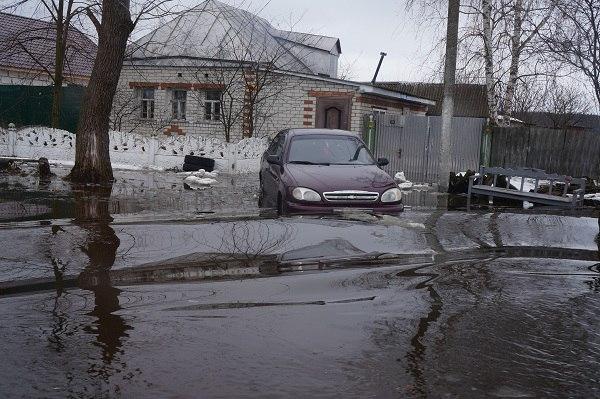 Сёла в Суджанском районе уходят под воду