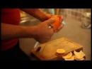 Как быстро почистить апельсин или мандарин / How peel quickly an orange or tangerine?