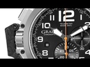 Graham Men's 2CCAC.B03A.T12S Chronofighter Analog Display Swiss Automatic Black Watch