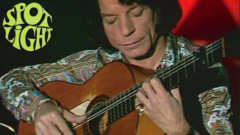 Manitas de Plata Solo Guitar Live on Austrian TV 1972
