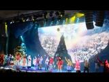 Новогодняя елка в храме Христа Спасителя. 2 января 2018г.