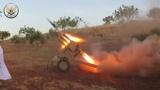 Бойня в Сирии боевики наступают при поддержке РСЗО
