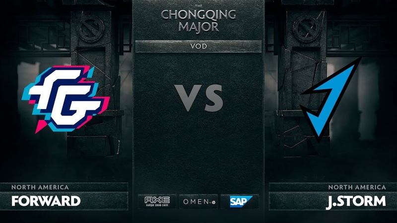 [RU] Forward Gaming vs J.Storm, The Chongqing Major LB Round 1