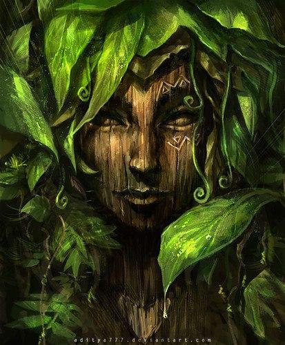 чернаямагия - Магия растений. Магические свойства растений. Обряды и ритуалы. Амулеты и талисманы из растений.  TY82VqN1Lk8
