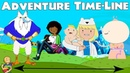 Adventure Time Line / Timeline Cartoon Network Theory