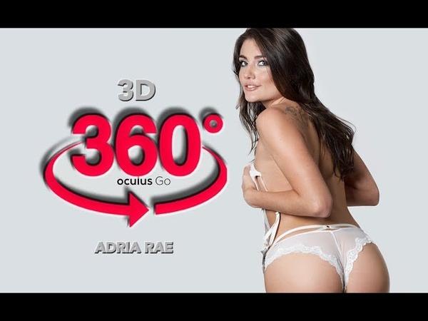 360 video VR Lap dance Adria Rae Oculus Go 3D