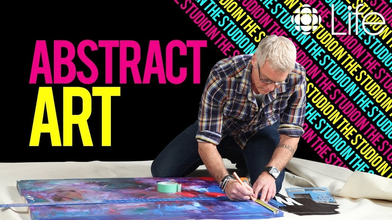 How to Create Abstract Art | In the Studio with Steven Sabados | CBC Life