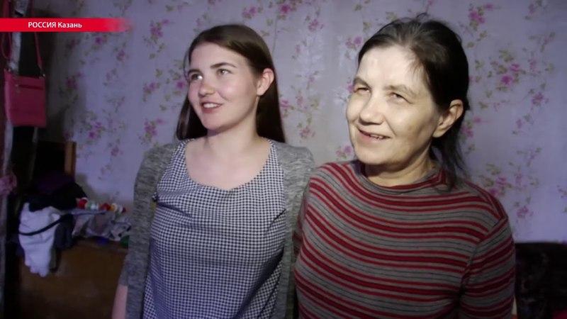 Жители разваливающегося поселка в Казани написали на стенах и крышах SOS