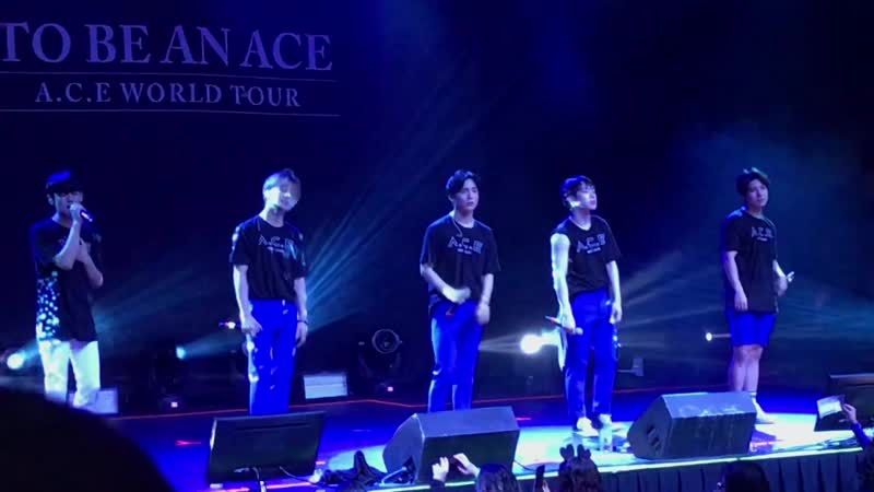 FANCAM | 07.12.18 | A.C.E - 5TAR @ Fan-con 'To Be An ACE' in Atlanta
