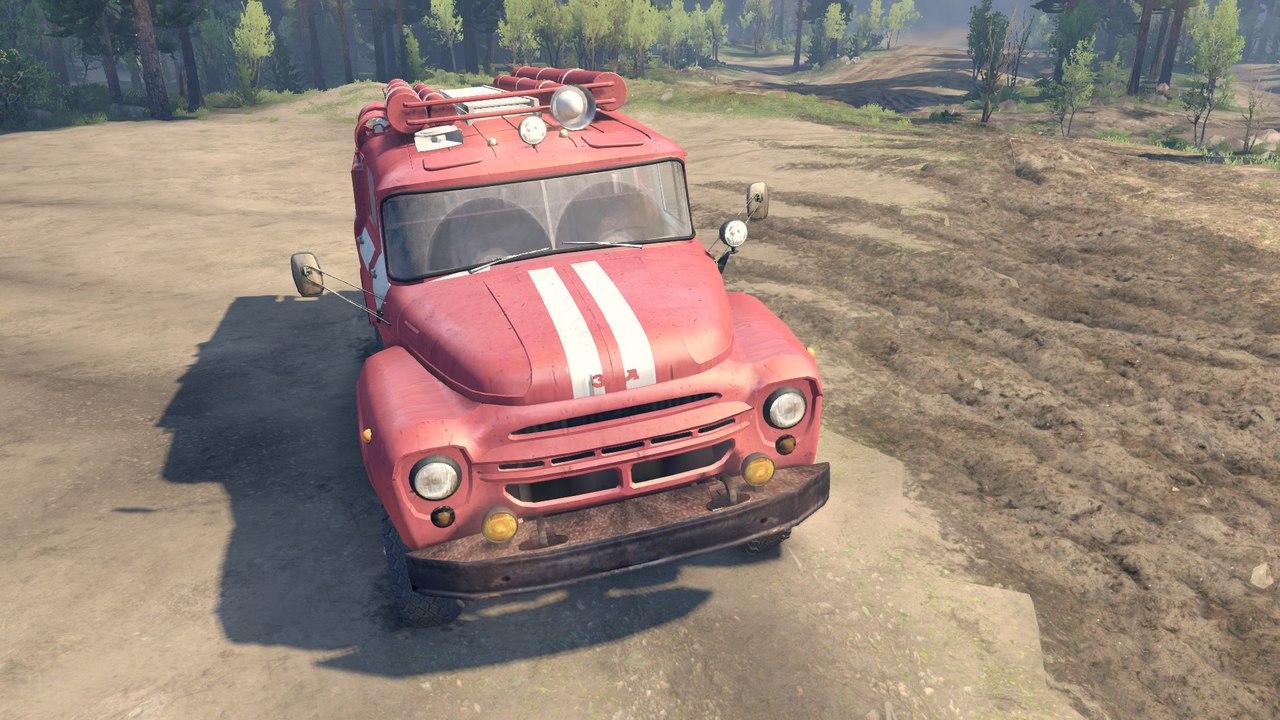 ЗиЛ 130 АЦ-40 для Spintires - Скриншот 1