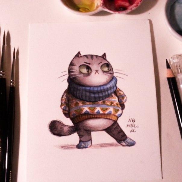 Котики от Ira Sluyterman