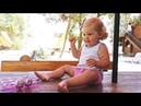 ✿ Киндер Сюрприз Хелло Китти Лунтик и Смешарики открываем на море игрушки распаковка Kinder