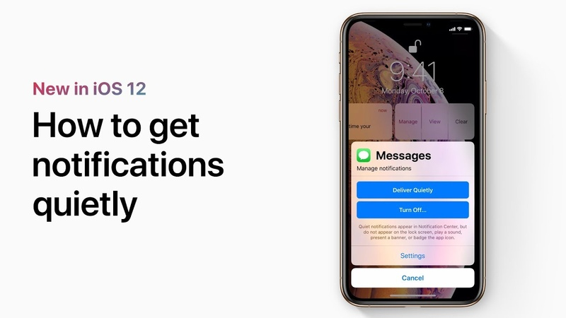 How to get notifications quietly on your iPhone and iPad — Apple Support