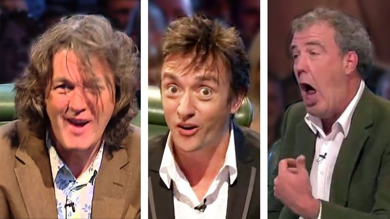Clarkson, Hammond and May, their best insults