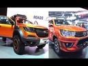 2017 2018 Chevrolet Colorado Xtreme VS 2016 2017 Toyota Hilux Revo TRD sportivo