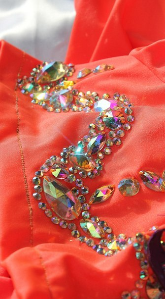 Платье для бальных танцев своими руками