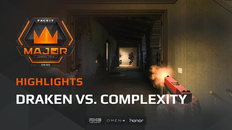 Highlights Draken vs compLexity Gaming, FACEIT Major London 2018 - New Legends Stage