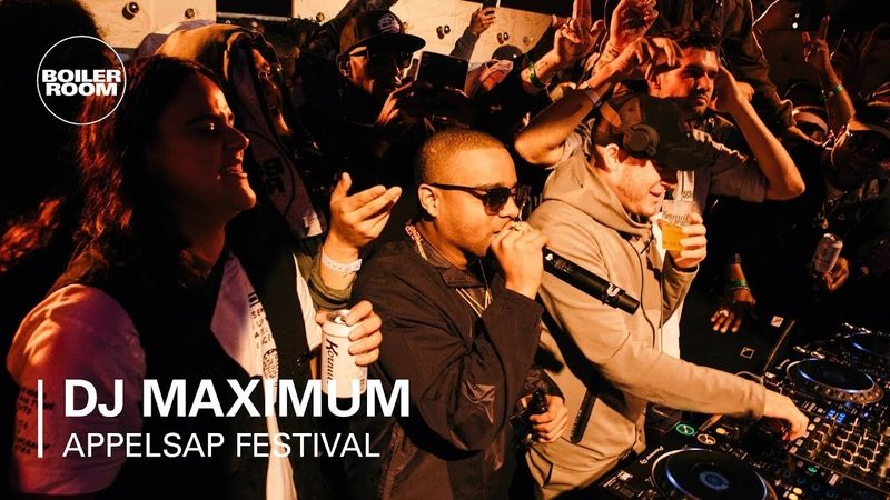 DJ Maximum | Boiler Room x Appelsap 2018